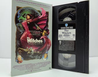 The witches VHS Tape