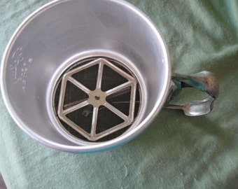 Vintage Retro  Foley 5 Cup Sifter For Kitchen  Use or Decoration