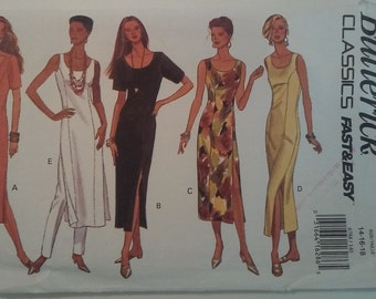 6788 Vintage Butterick Misses Dress and Pant Sewing Pattern P71