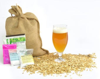 Bruges Belgian Witbier One Gallon Beer Home Brewing Recipe Kit - 1 Gallon Small Batch Brewing Ingredient Kit