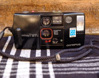 Olympus Infinity Twin | 35mm Camera | Vintage Camera | Film Tested Working