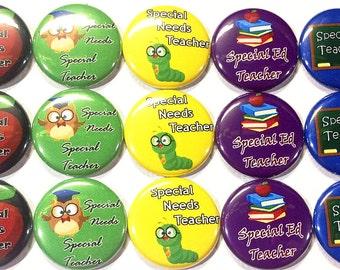 "Special Education Teacher Magnet, 1"", Button Magnet, Special Ed Magnet, Special Education, Special Ed Gift, Special Ed Teacher Gift, Magnet"