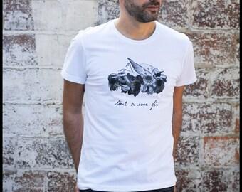 """T - Shirt man """"The rest of the bird"""""""