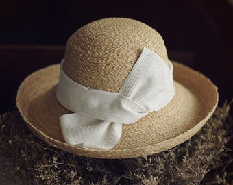 New women's boutique laffei straw hat shading leisure vacation frilly cap fisherman hat beach cap