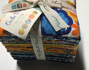 Moda-On the Wing-Abi Hall-Fat Quarter Bundle-25 count of fat quarters