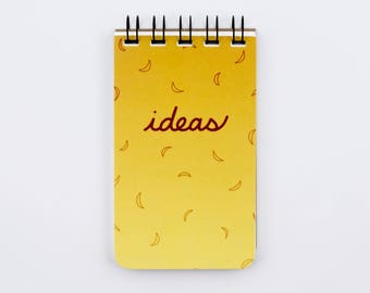 Bright Ideas Wire Spiral Flip Pocket Notebook