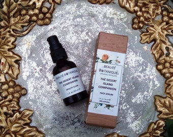 The DESERT ISLAND COMPANION, Organic Bio Fermented Botanical Serum