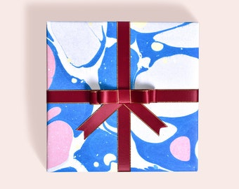 Star Ocean Wrapping Paper,Birthday Gift Wrap,Waterpainting Gift Wrap,Holiday Wrapping Sheet