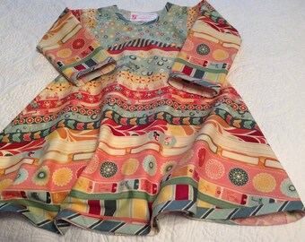 Girls Long Sleeve Fall Dress size 5