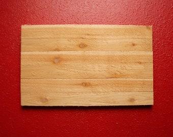 Rough Cedar Sign Blank - Paint your own design!