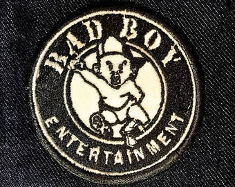 """3""""x3"""" Bad Boy iron on or sew on patch"""