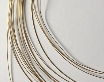 14K Gold Filled Square Wire. 22 gauge Half Hard wire. 10 feet length. bulk packages.