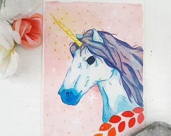 Unicorn Downloadable Print