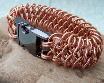 Bronze Dragon Scale Bracelet