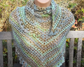 Soft and Cosy Hand-crocheted Scarf