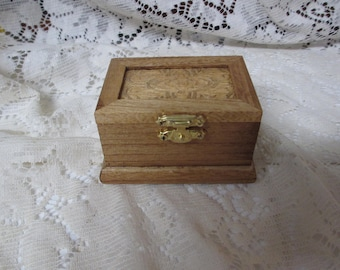 Jewelry Box, Treasure Box,Ring Box, Treasure Box, Small Wooden Box
