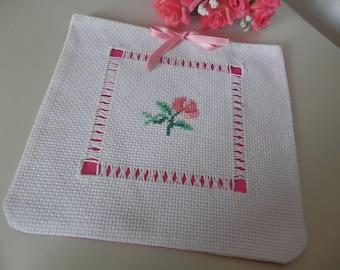 embroidered bag lingerie holder