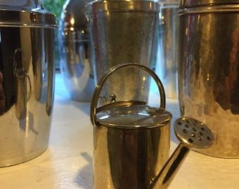 Silver Martini  Vermouth Watering Can Dispenser *Rare*