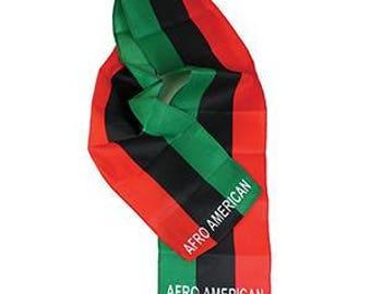 African-American Flag Scarf