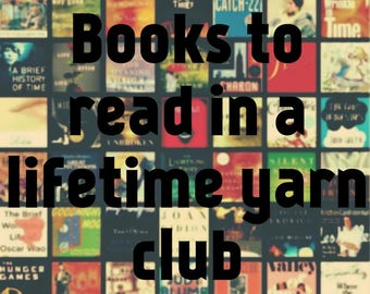 3 Month Subscription Top 20 Books to read in a Life Time Club!