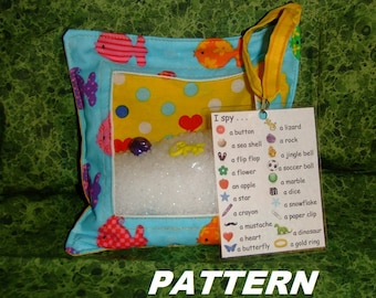 PATTERN I Spy Bag