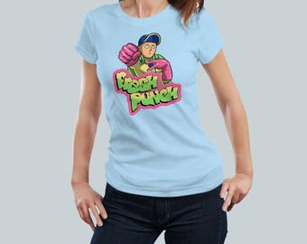 Fresh Punch / One-Punch Man Tee / Fresh Prince Saitama Mash-up / Women's Fit T Shirt