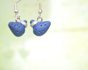 The Legend of Zelda Inspired Ocarina Earrings