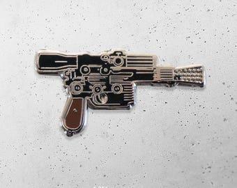 DL-44 / Han Solo / Blaster / pew pew / Star Wars / Hat Pin / Lapel Pin / Hard Enamel /  Pin / Lapel Geek Pin