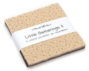 Moda petits rassemblements II charme Pack, (42) 5» couette tissu carrés de rassemblements primitifs