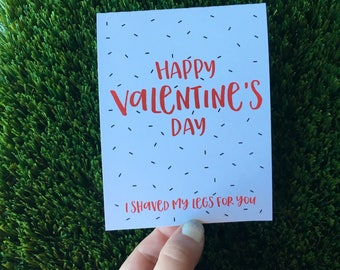 Funny Valentine Card / Funny Anniversary Card / Funny Relationship card / Funny Valentine's Day Card / Vday card for guy / ldr valentine