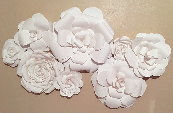 Paper Flowers Wall Decor   Wedding Decor   Home Decor   Nursery Decor    Paper Flower Backdrop   Paper Flowers   Photo Shoot   Backdrop