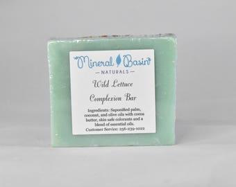 Wild Lettuce Complexion Soap -VEGAN