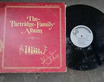 Partridge Family Album Vinyl Record Shirley Jones David Cassidy Bell Records 1970s vintage I Think I Love you