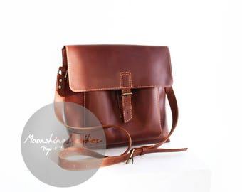 Leather shoulder bag, men leather bag, womens bag purse, leather messenger, women leather bag, messenger bag purse, mens messenger bag