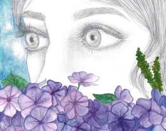 Flower Girl (Original Artwork)