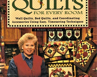 Debbie Mumm's Quick Country Quilts for Every Room Hardcover Book 1998