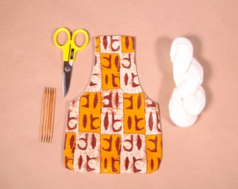 Small Knitting Project Bag - Yarn Bag Organiser - Project Bag for Crochet or Knitting - Gifts for Knitters