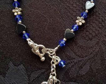 adjustable birthstone bracelet