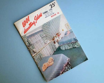 Vintage 50s 1001 Decorating Ideas Booklet Conso Book 16