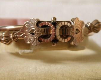 Beautiful Embellished Victorian Gold Filled Bracelet