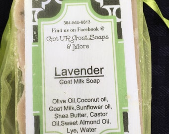 Goat Milk Lavender Bar Soap 4.5 oz