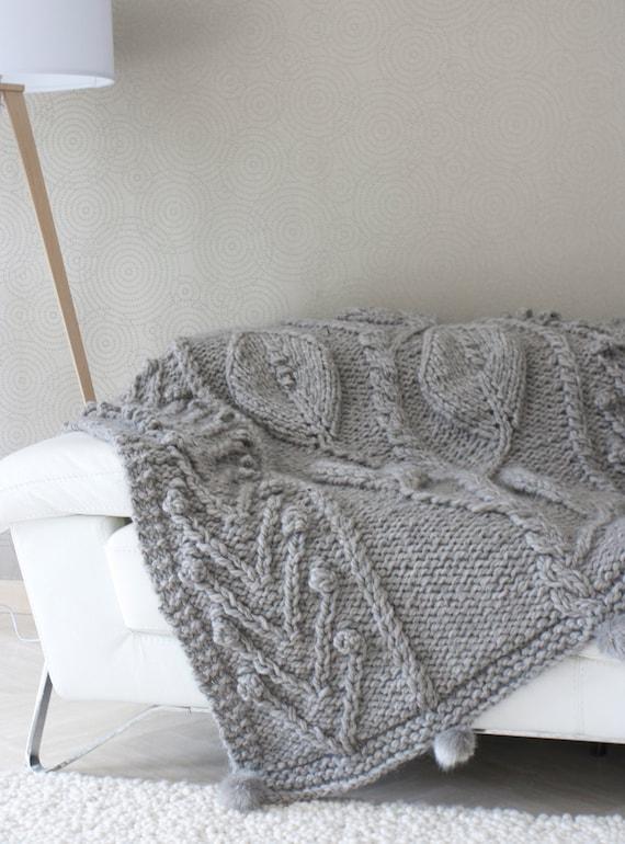 plaid meg ve style scandinave gris 100 pure. Black Bedroom Furniture Sets. Home Design Ideas