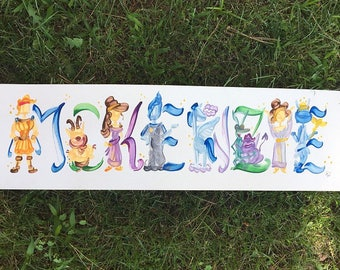 Hercules Name Painting - Made to Order
