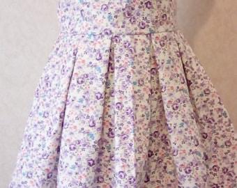 lavender sun dress