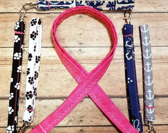 Breast Cancer Awareness Lanyard / Wristlets
