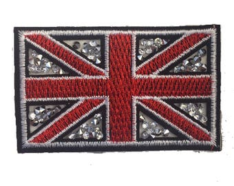 Union Jack Flag Patch