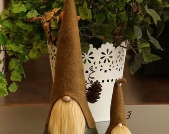 De la maison nordiques Gnomes ensemble avec Mini, HADMAR, sorciers, Gnomes scandinaves, Gnome, Gnomes nordiques, magie, forêt, forêt, Tomte, Gnome maison
