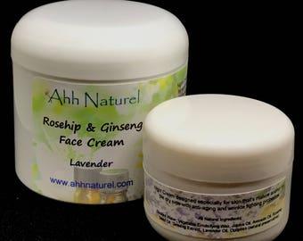 Anti Aging Rosehip & Ginseng Face Cream