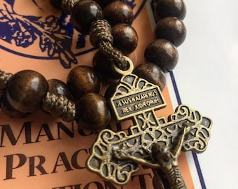 Unbreakable Wooden Rosary