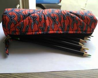 T003 - Kit school round wax (pencil box) canvas